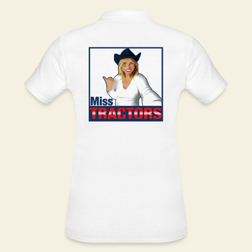 Miss Tractors Logo - Polo donna