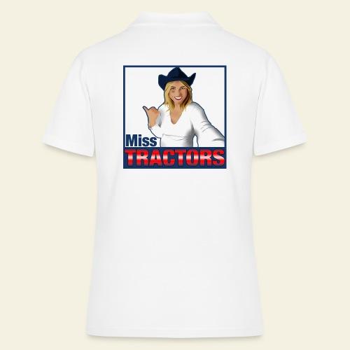 Miss Tractors Logo - Women's Polo Shirt