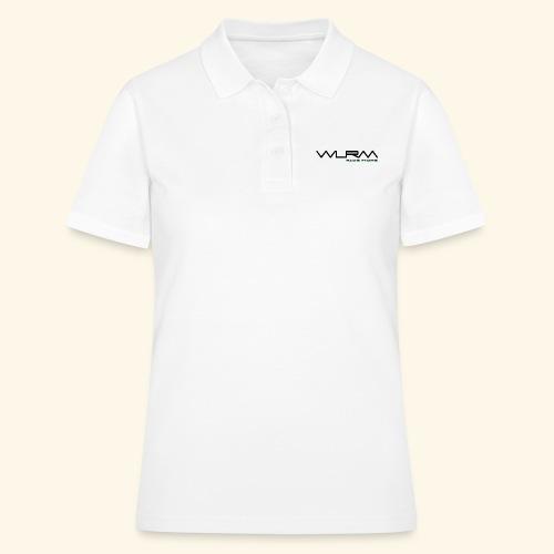 WLRM Schriftzug black png - Frauen Polo Shirt