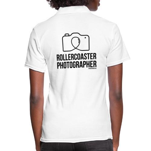 Photographe de montagnes russes - Polo Femme