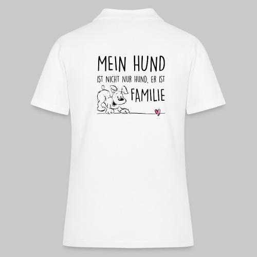 Mein Hund ist Familie - Frauen Polo Shirt