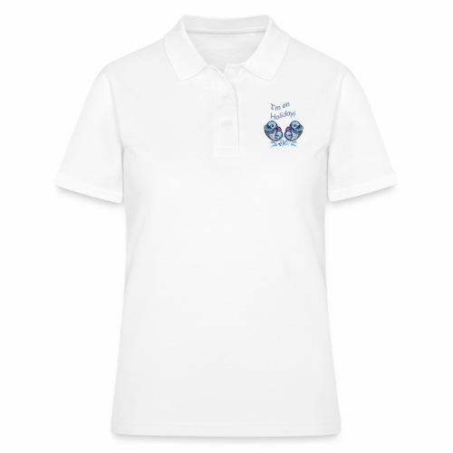 I'm on holliday - Women's Polo Shirt