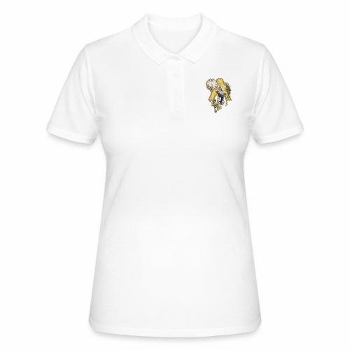 Alphabet-Capital A - Women's Polo Shirt