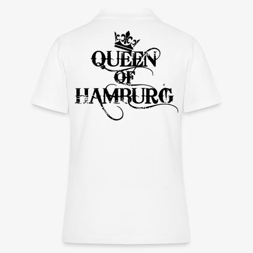 41 Queen of Hamburg Krone Kiez Königin - Frauen Polo Shirt