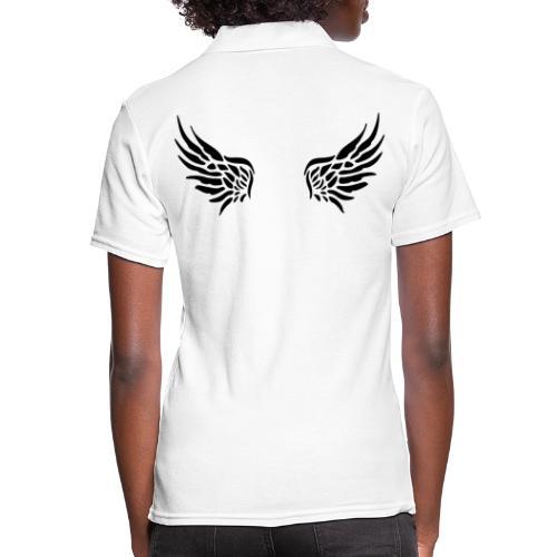Nicht alle Engel werden als solche geboren! - Frauen Polo Shirt