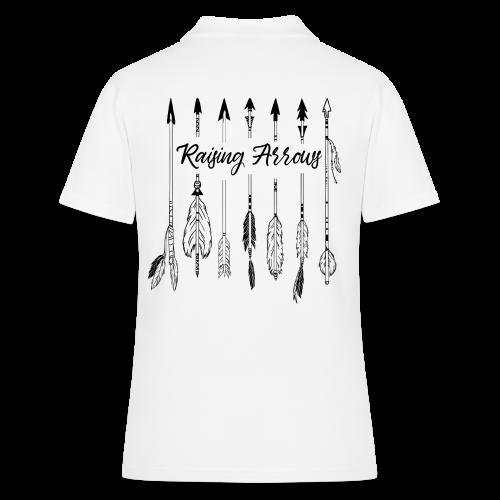 Raising Arrows - Frauen Polo Shirt