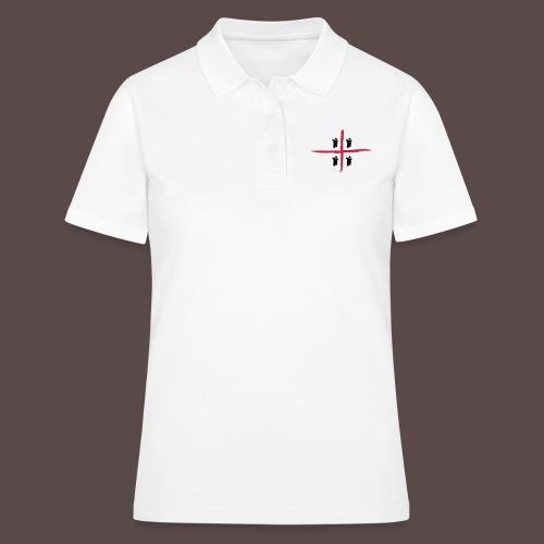 Sardegna Bendata, 4 Mori orizzontale - Women's Polo Shirt