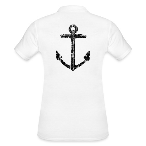 Anker (Vintage/Schwarz) - Frauen Polo Shirt