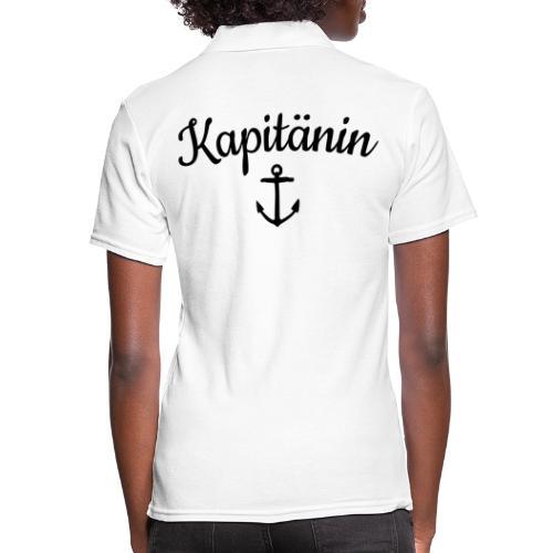Kapitänin Anker Segel Käpt'n Segeln - Frauen Polo Shirt