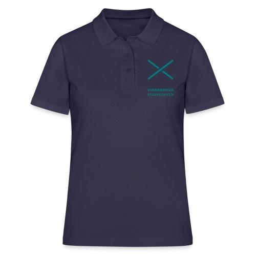 Trainer für Vidarbodua Stabfechten (ohne Rücken) - Frauen Polo Shirt