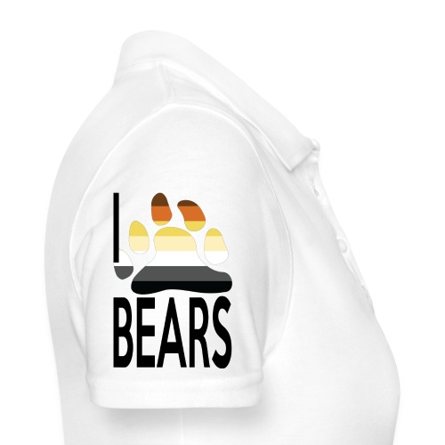 I love bears - Polo Femme