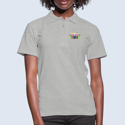 """Berlin """"Brandenburger Tor"""" PopArt Design - Frauen Polo Shirt"""