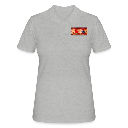 Dos Paisanitas tejiendo telar inca - Camiseta polo mujer