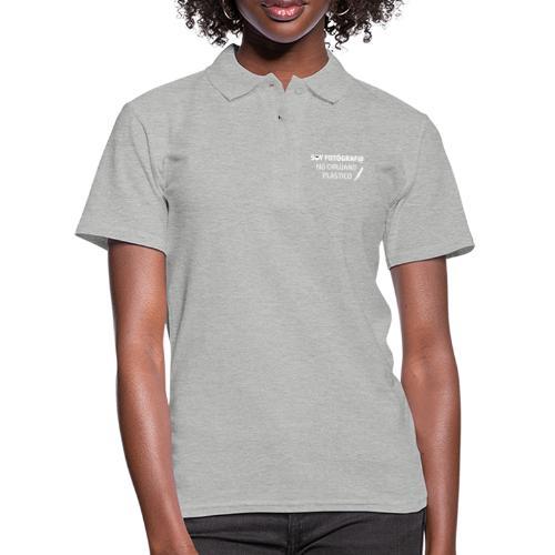 SOY FOTÓGRAFO NO CIRUJANO PLÁSTICO - Camiseta polo mujer