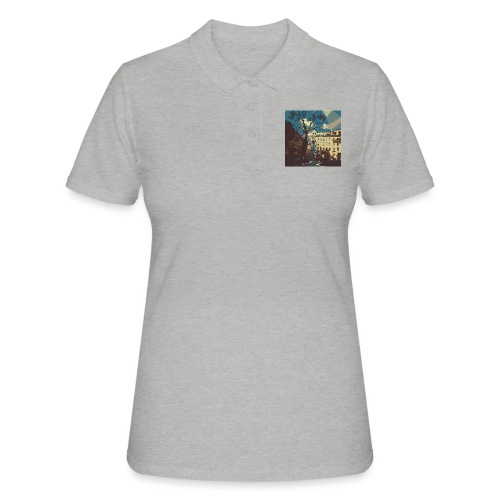 Abstrakt Budapest - Frauen Polo Shirt