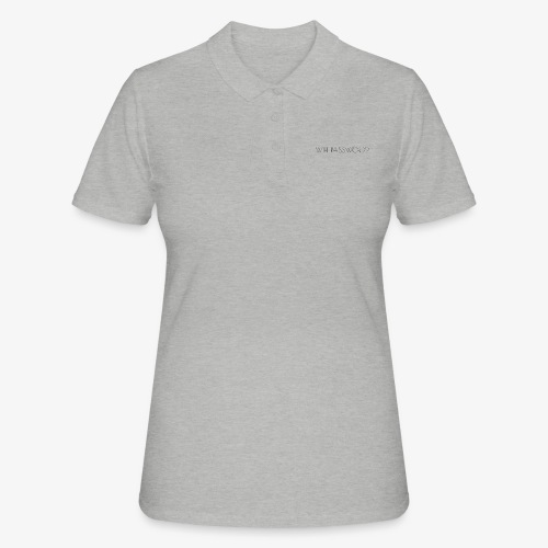 WIFI PASSWORD? - Women's Polo Shirt