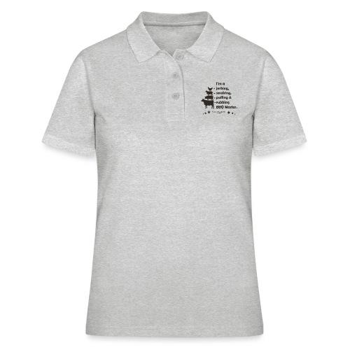 I'm a jerking, smoking, pulling & rubbing BBQ Ma - Frauen Polo Shirt