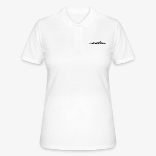 merveilleux. Black - Women's Polo Shirt