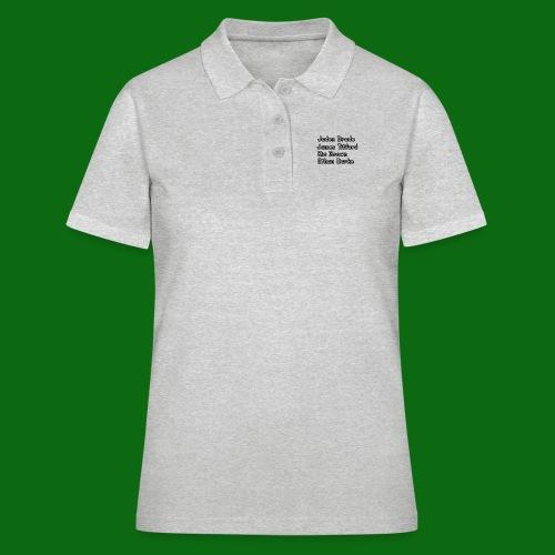 Glog names - Women's Polo Shirt