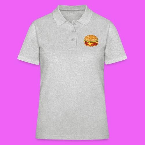hamburguesa - Camiseta polo mujer