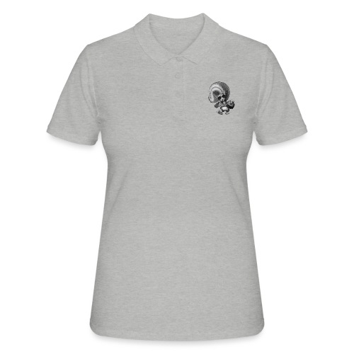 Squirrel Pilot - Frauen Polo Shirt
