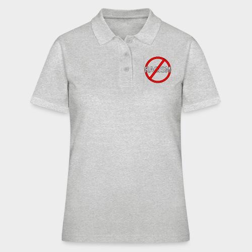 No to racism. - Women's Polo Shirt