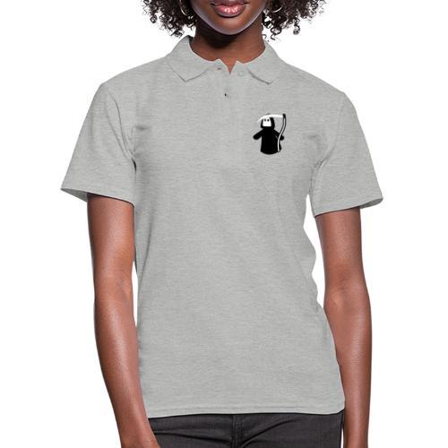 Der süße Sensenmann kommt, alle in Deckung - Frauen Polo Shirt