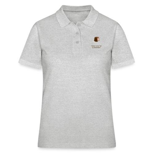 Chocolate - Frauen Polo Shirt