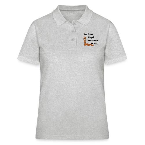 Der frühe Vogel SW - Frauen Polo Shirt