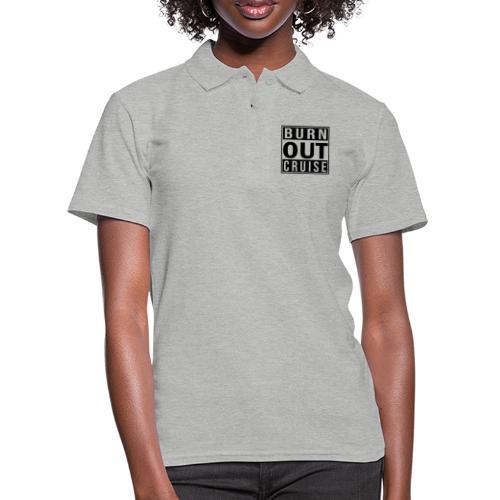 Kreuzfluenzer - Burnout Cruise - Frauen Polo Shirt