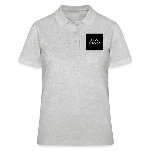 ELIA (Black and white) - Frauen Polo Shirt