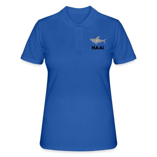 haai hallo hoi - Women's Polo Shirt