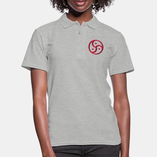 Triskelion - Triskele dual-color - Frauen Polo Shirt