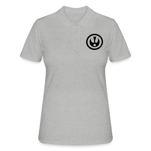 FITTICS SHIELD Black - Women's Polo Shirt