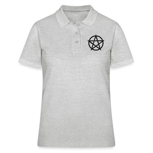 Pentagramme Wicca - Polo Femme