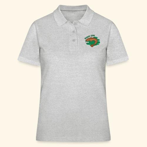 Homo sum ;) - Koszulka polo damska