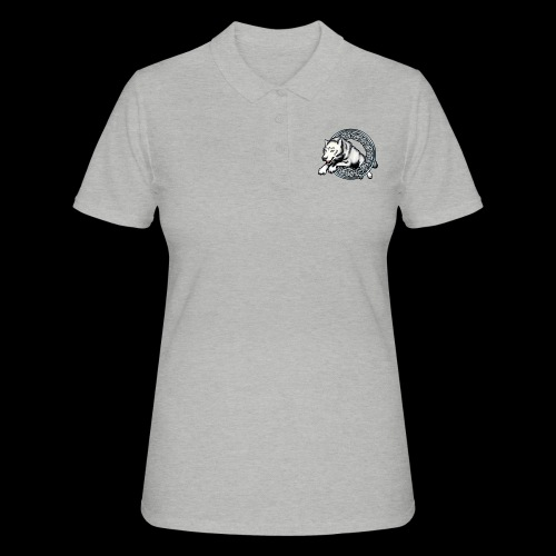 Leaping Wolf - Women's Polo Shirt