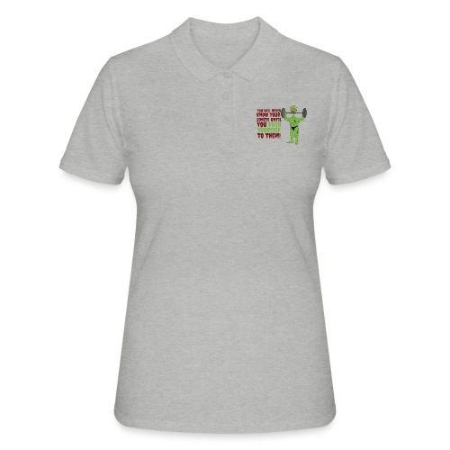 Push yourself - Women's Polo Shirt