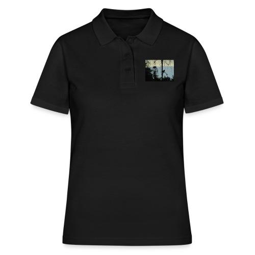 A winter bird - Women's Polo Shirt