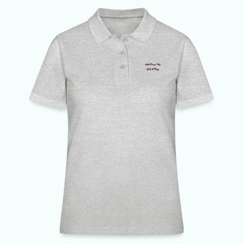 valenteens day - Frauen Polo Shirt
