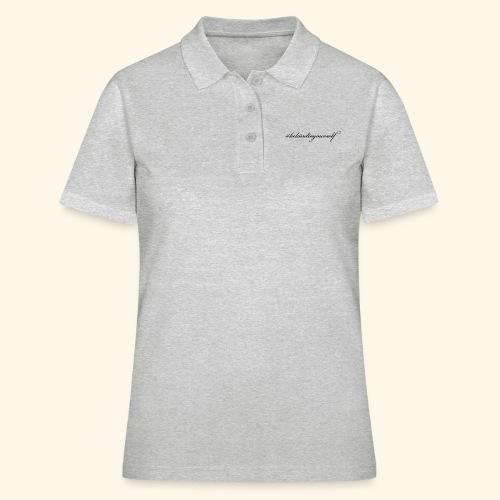 Always #bekindtoyourself - Poloshirt dame