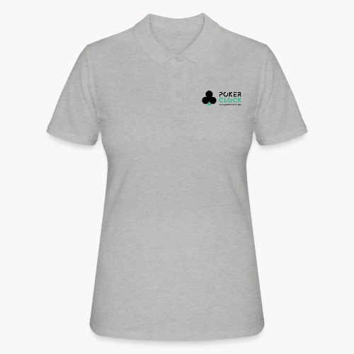 Poker Clock Logo - Frauen Polo Shirt