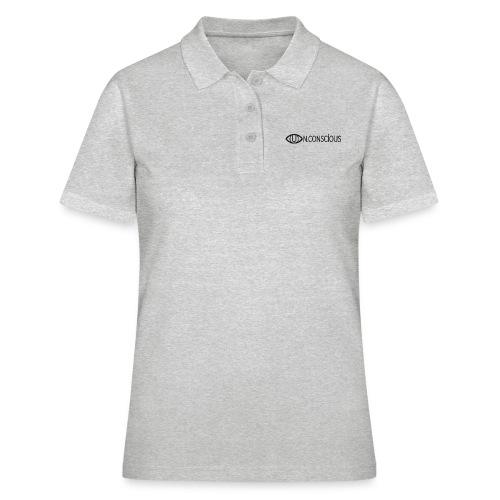 UN.CONSCIOUS LOGO BLACK - Women's Polo Shirt