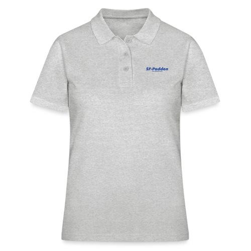 Skrift med web - Poloskjorte for kvinner
