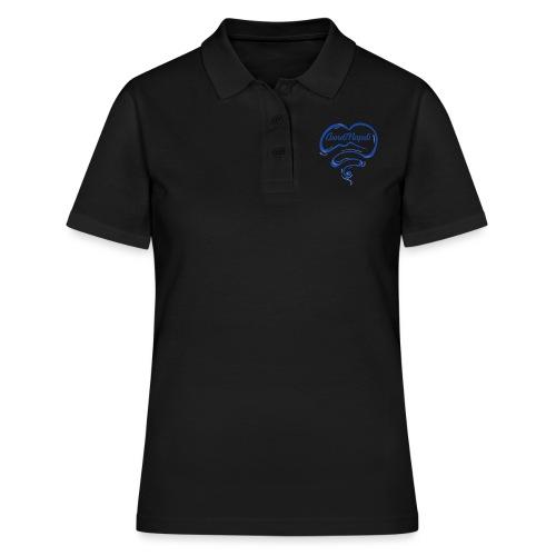 New Logo CuordiNapoli Blu - Polo donna