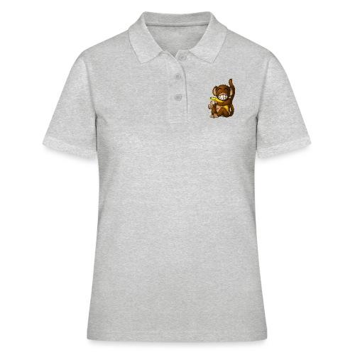 Super Fröhlicher Affe - Frauen Polo Shirt