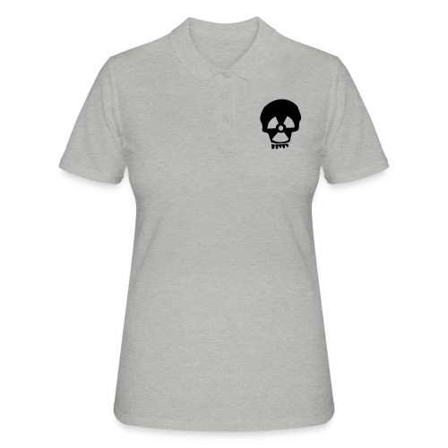 totenkopf nuklear - Frauen Polo Shirt