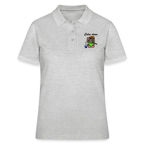 Calm down Katze - Frauen Polo Shirt