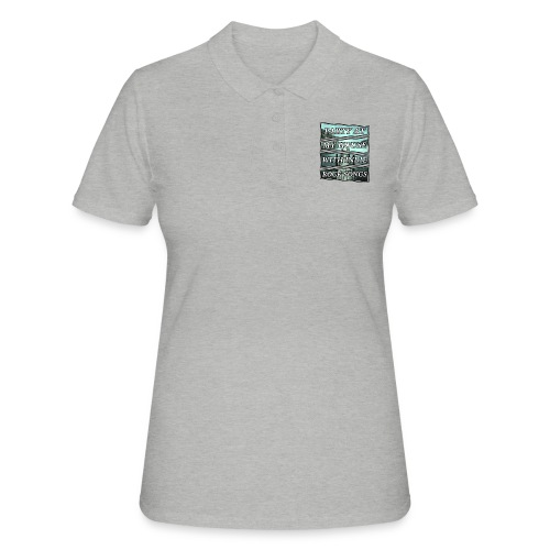 PARTY WITH INDIE ROCK SONGS - Camiseta polo mujer