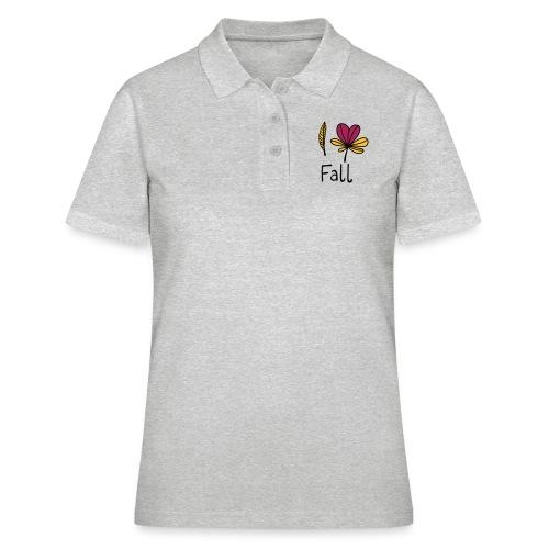 Fall in love - Frauen Polo Shirt